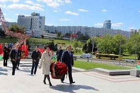 Андрей Худык принял участие в акции «Беларусь помнит. Помним каждого»