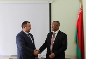 О встрече Андрея Худыка с Чрезвычайным и Полномочным Послом Республики Судан в Республике Беларусь
