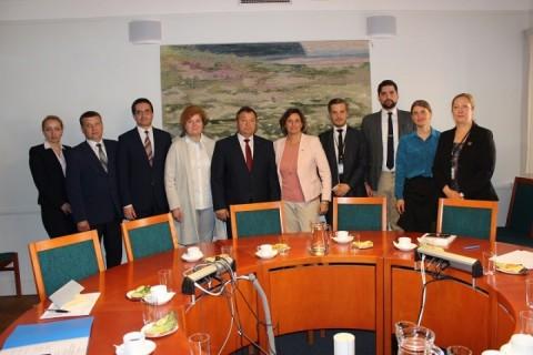Встреча Андрея Худыка с Вице-Премьером, Министром окружающей среды и климата Швеции Изабеллой Лёвин
