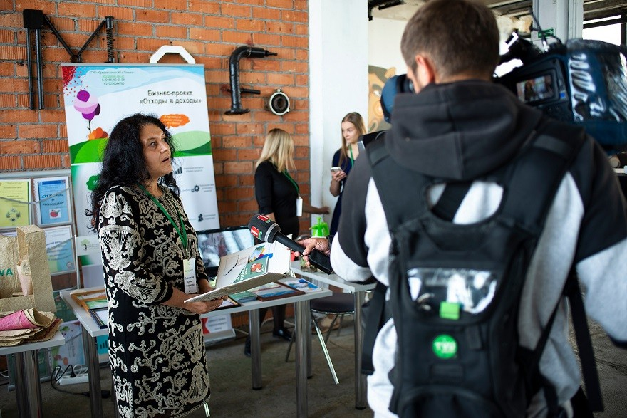 Выставка финалистов конкурса эко-стартапов Belarus Green Awards 2020