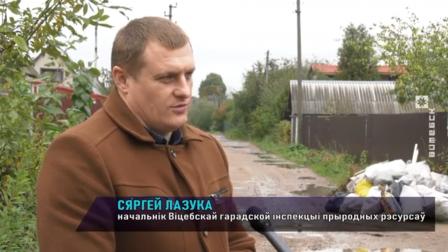 Борьба со свалками в дачных посёлках Витебской области