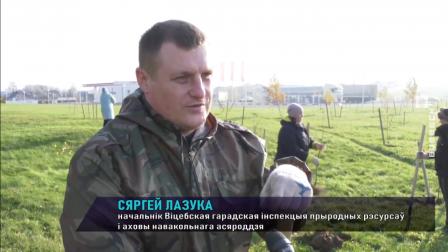"""Экологическая кампания """"Обустроим малую родину"""" проходит в Витебске"""