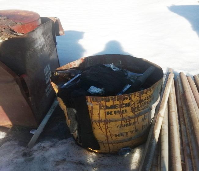 На территории завода металлоконструкций в Борисове нашли несанкционированное размещение отходов 1
